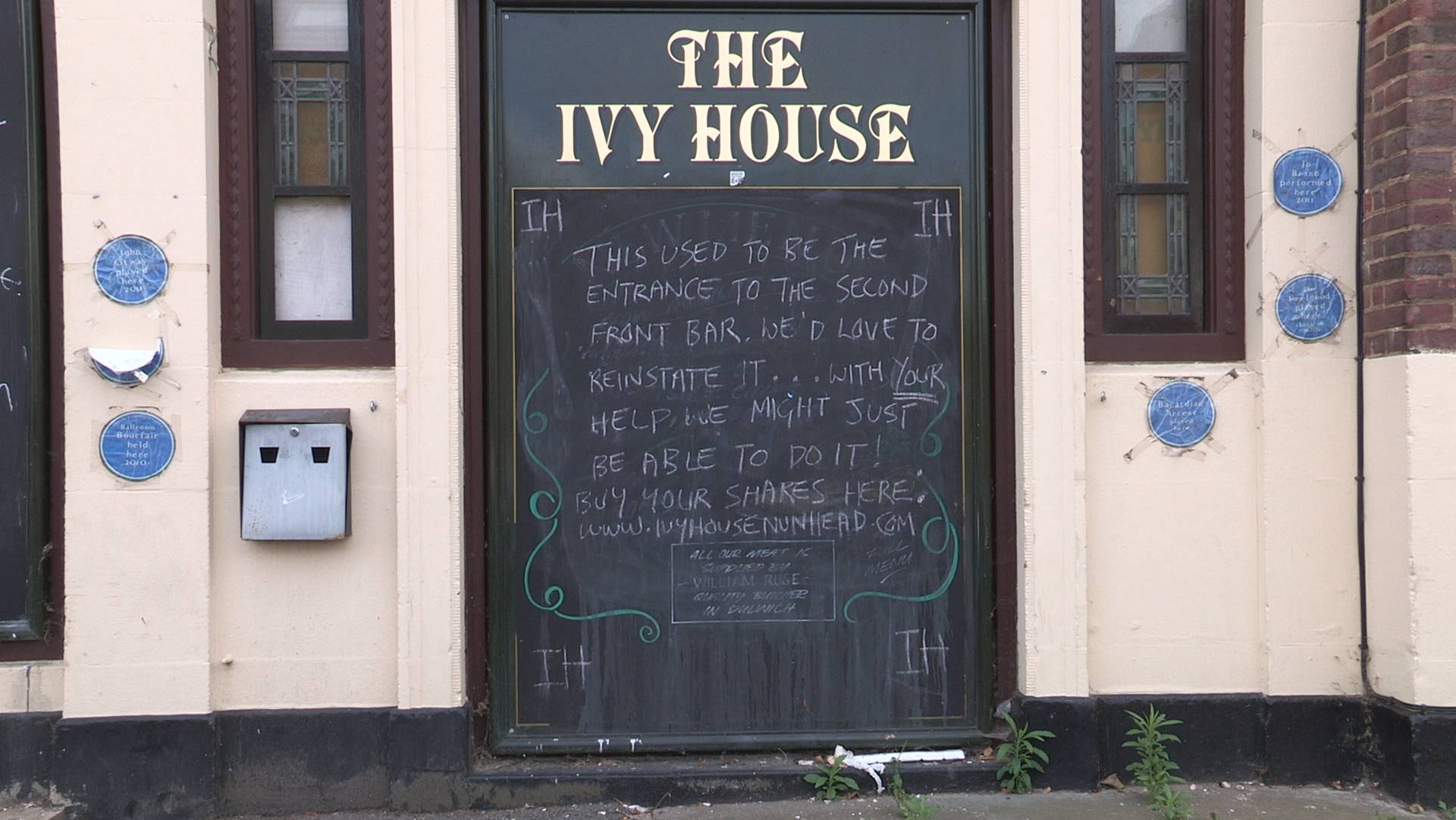 A closed Ivy House